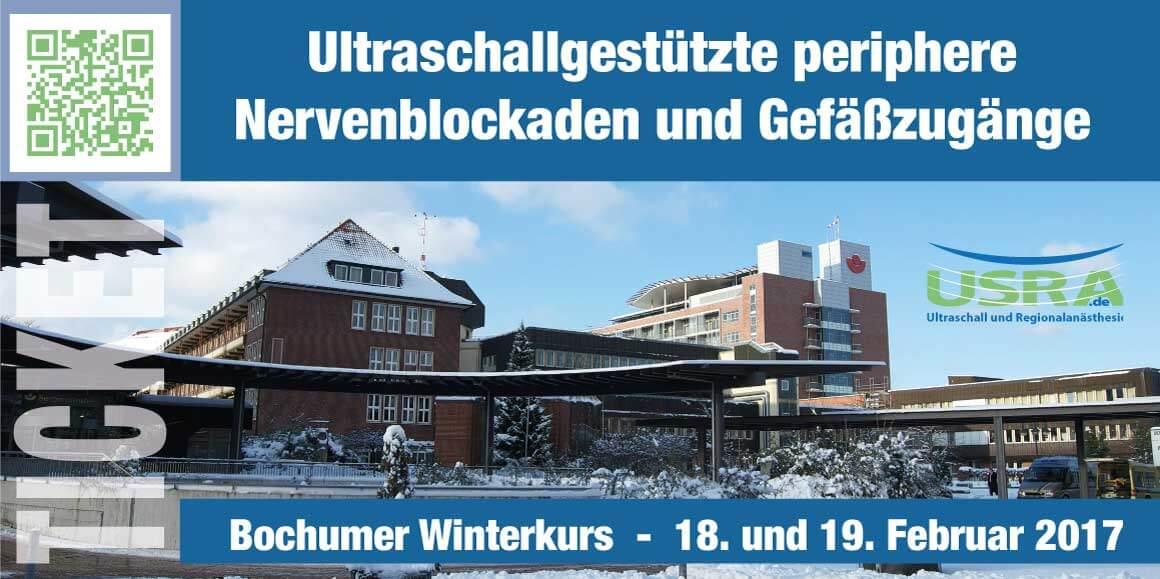 USRA Bochum GK1 Ultraschall Nervenblockaden Winterkurs