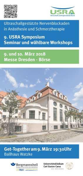 9. USRA Symposium 2018 in Dresden - Wir freuen uns auf Sie