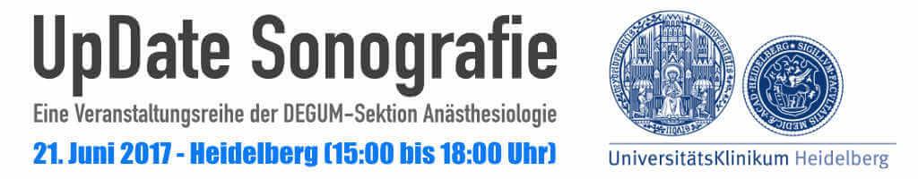 UpDate Sonografie – Heidelberg 21. Juni 2017